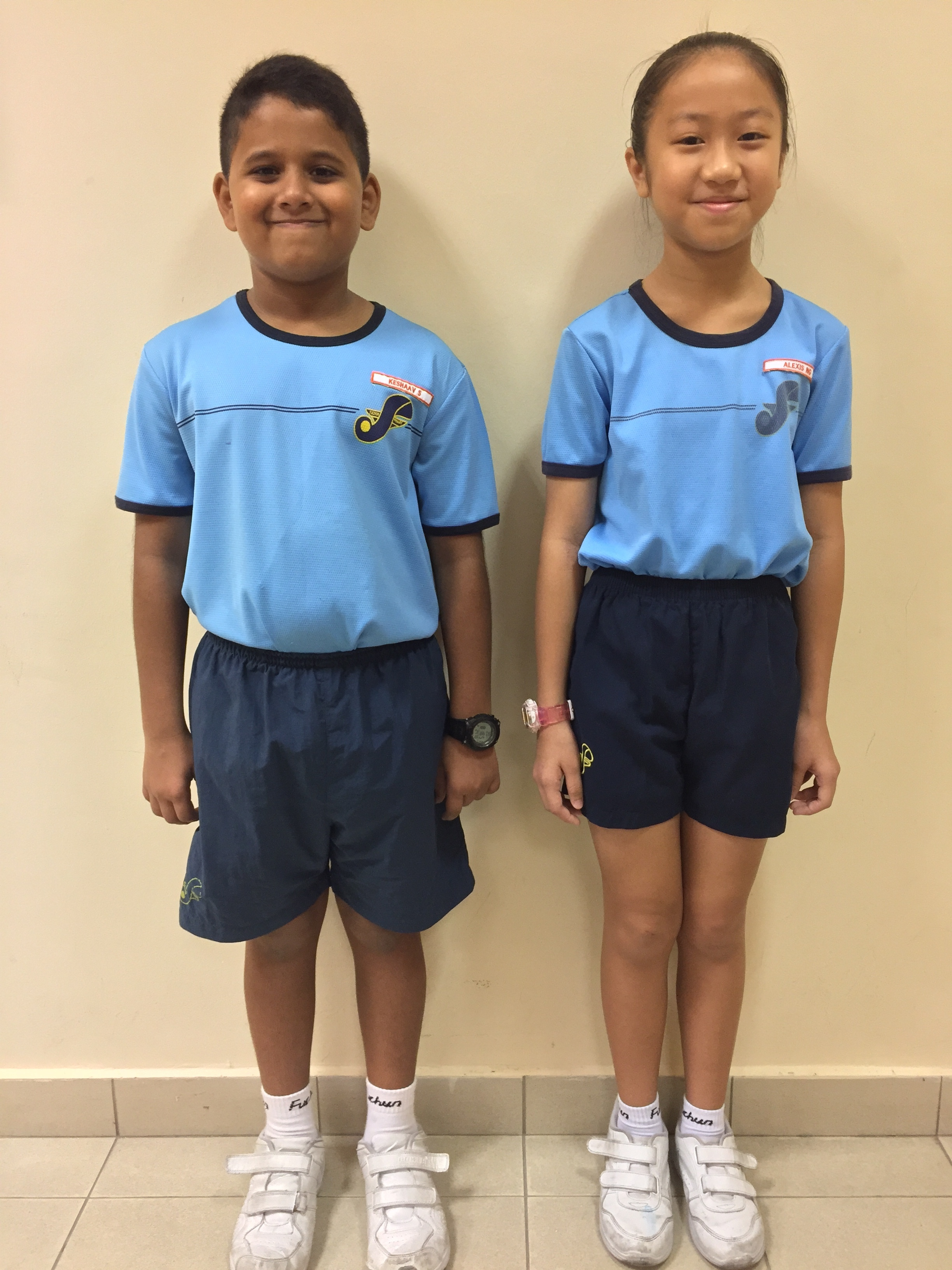 Proper attire and appearance in PE attire