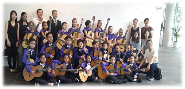 Guitar Ensemble Group Photo