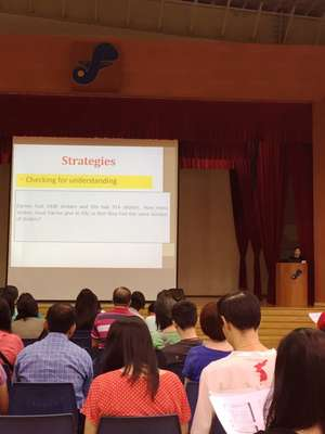 Sharing Sessions for Parents